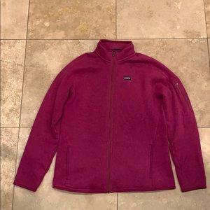 Patagonia Better Sweater Jacket Pink Size XL